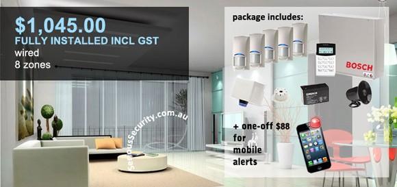 alarm pack 4 from 16 zones bosch solution 6000. Black Bedroom Furniture Sets. Home Design Ideas