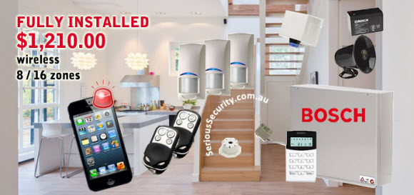 alarm pack 1 from 4 zones bosch solution 880 serious. Black Bedroom Furniture Sets. Home Design Ideas