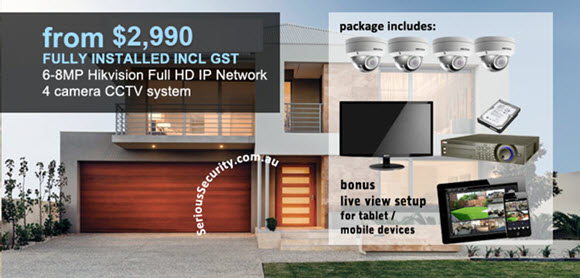 Serious Security, Residential and Commercial CCTV & Alarm Security